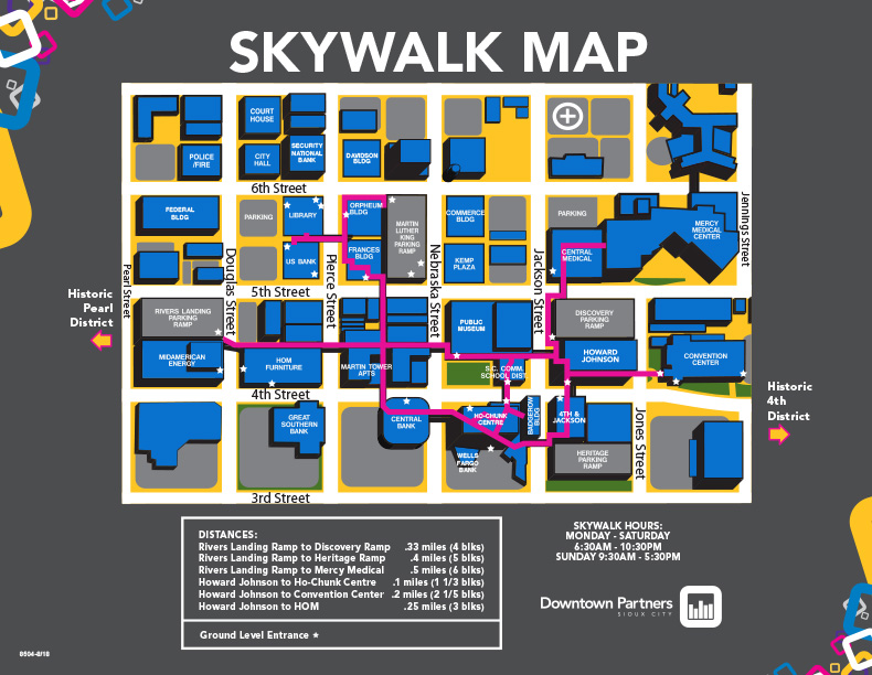 Downtown Maps | Downtown Partners Sioux City