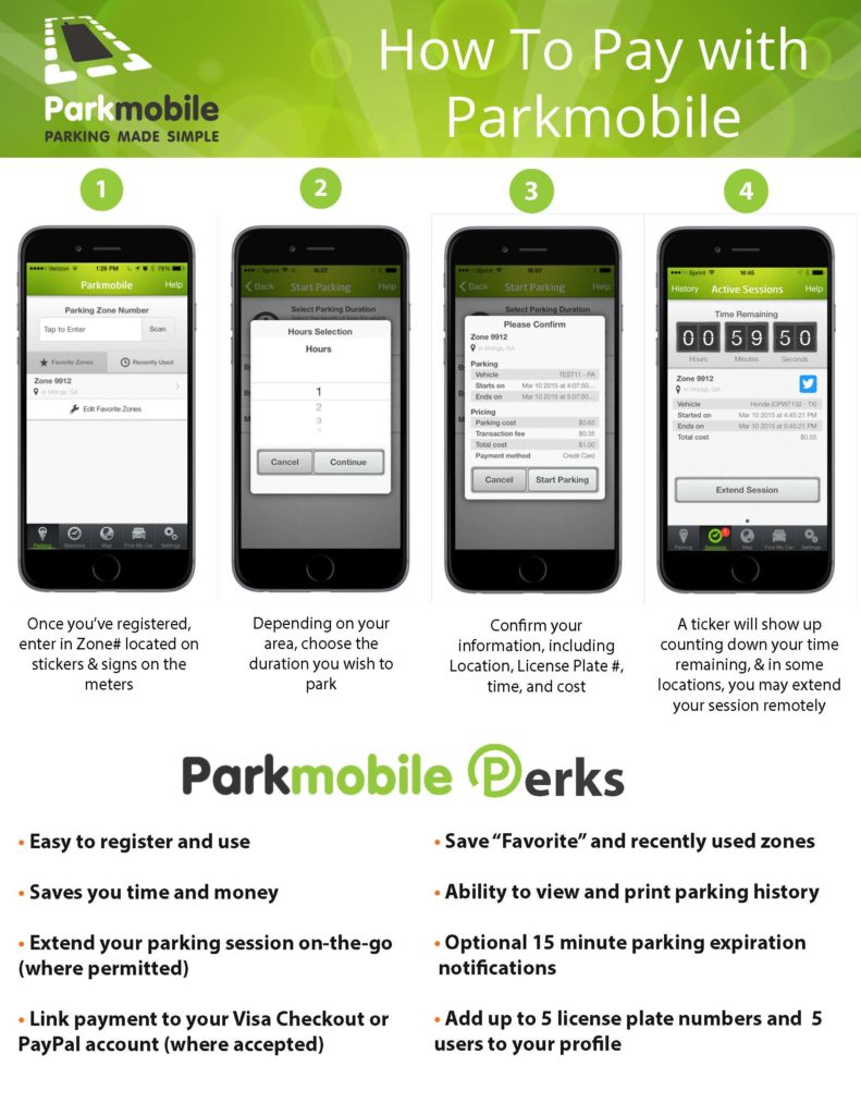Parkmobile - How to Use