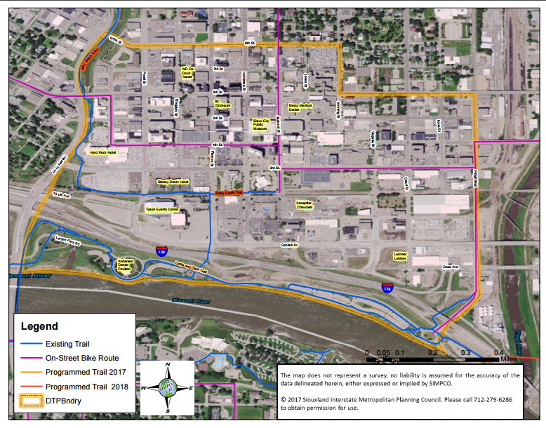 Bike Trails | Downtown Partners Sioux City on