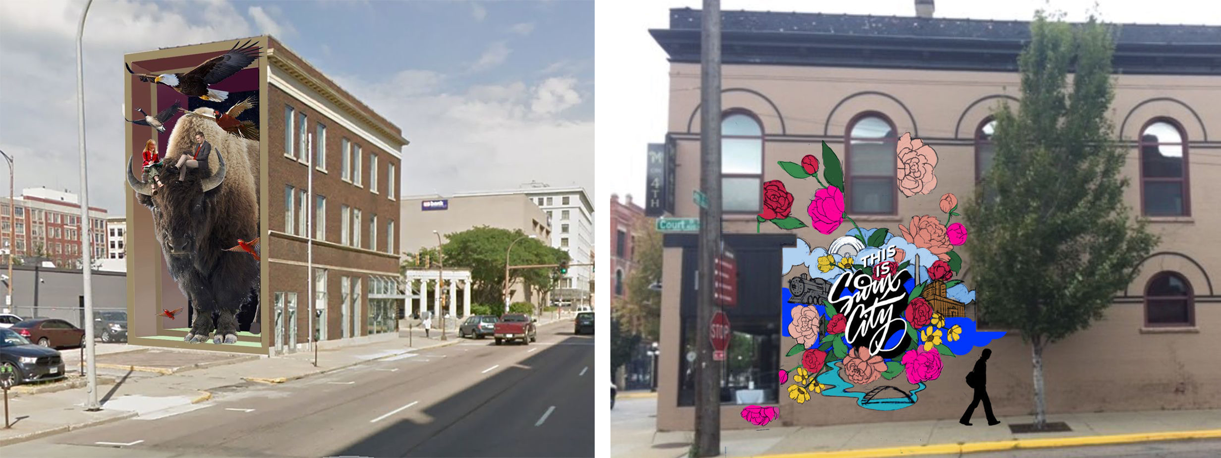 Downtown Partners Welcomes Building Mural Artists