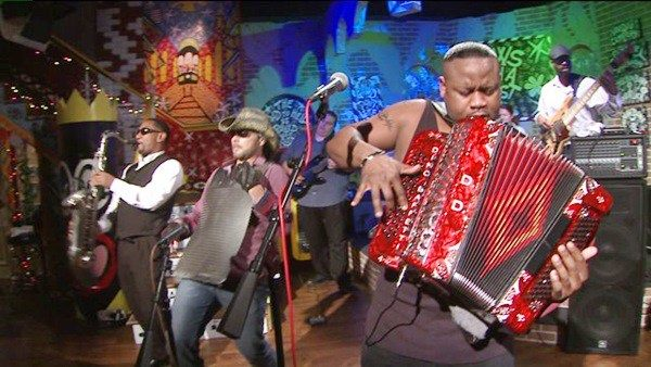 Dwayne Dopsie and The Zydeco Hellraisers Downtown Live