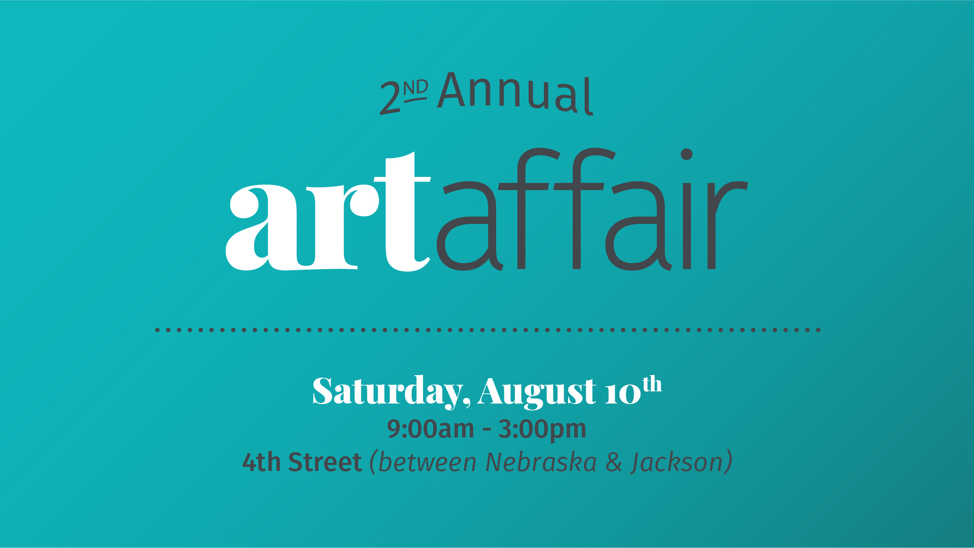 2nd Annual Art Affair