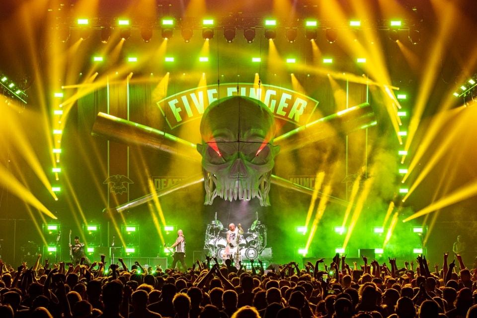 Five Finger Death Punch at Battery Park