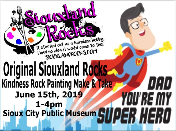 Siouxland Rocks Kindness Rock Painting Make & Take: FREE
