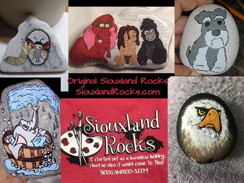 Siouxland Rocks Kindness Rock Painting Make & Take – Free!