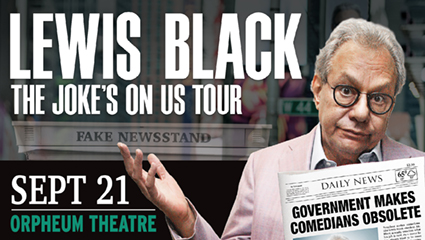Lewis Black – The Joke's On Us Tour