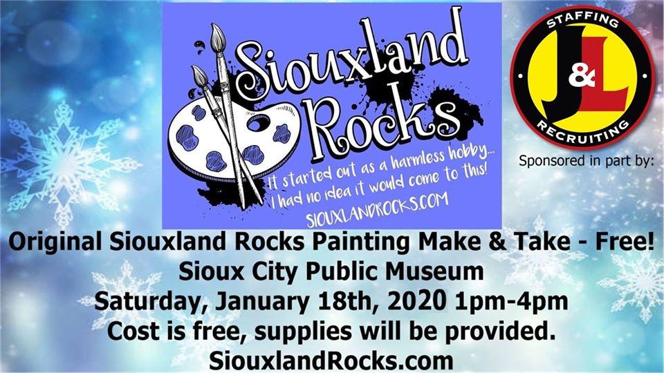 SiouxlandRocks.com Kindness Rock Painting Make & Take Free