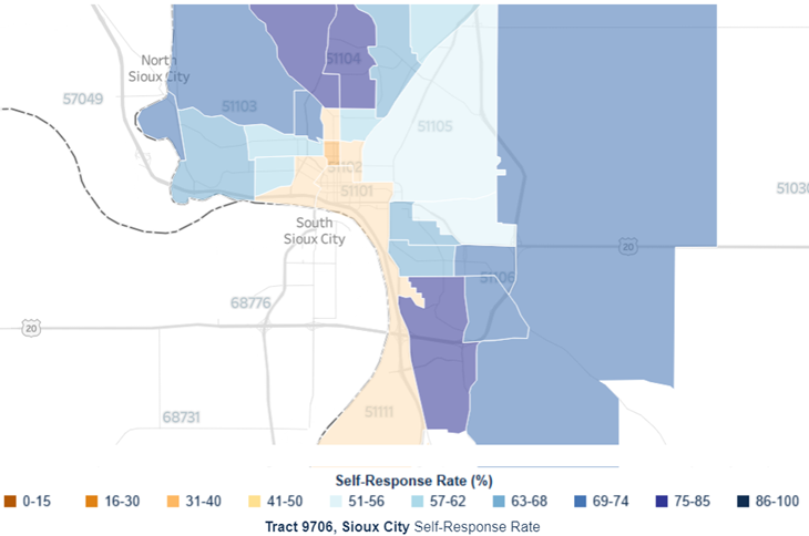 2020 Census Update: Downtown Sioux City Responses Needed