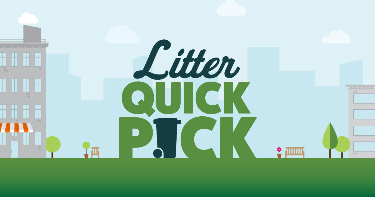 The Litter Quick Pick Program is Back!