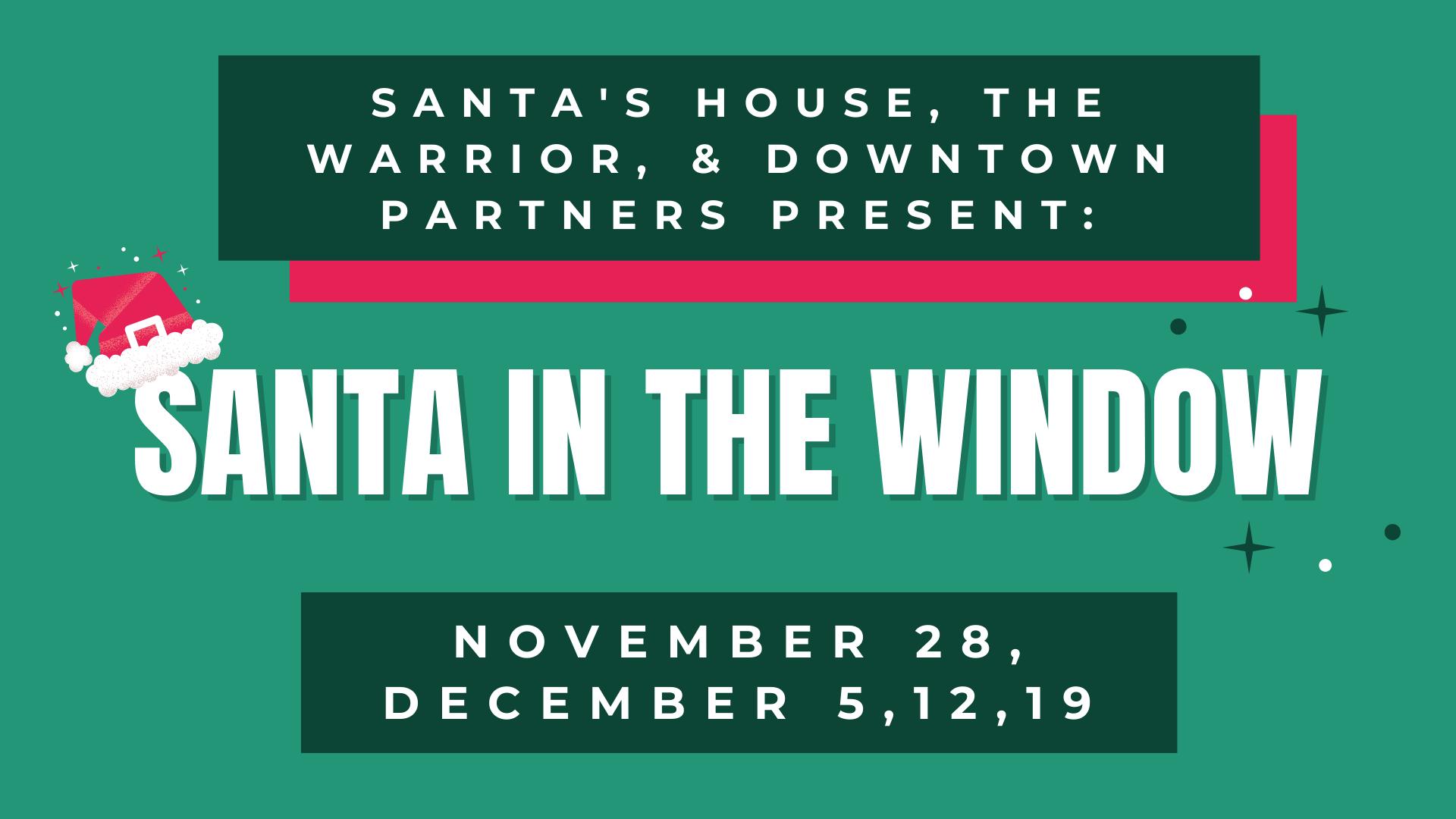 Visit Santa at The Warrior Hotel