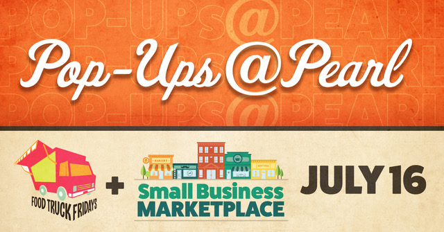 POSTPONED: Small Business Marketplace: Pop Ups @ Pearl Edition